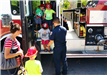 RFD at library, kids in engine (7-12-17)