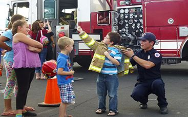 Fire national night out - spotlight item