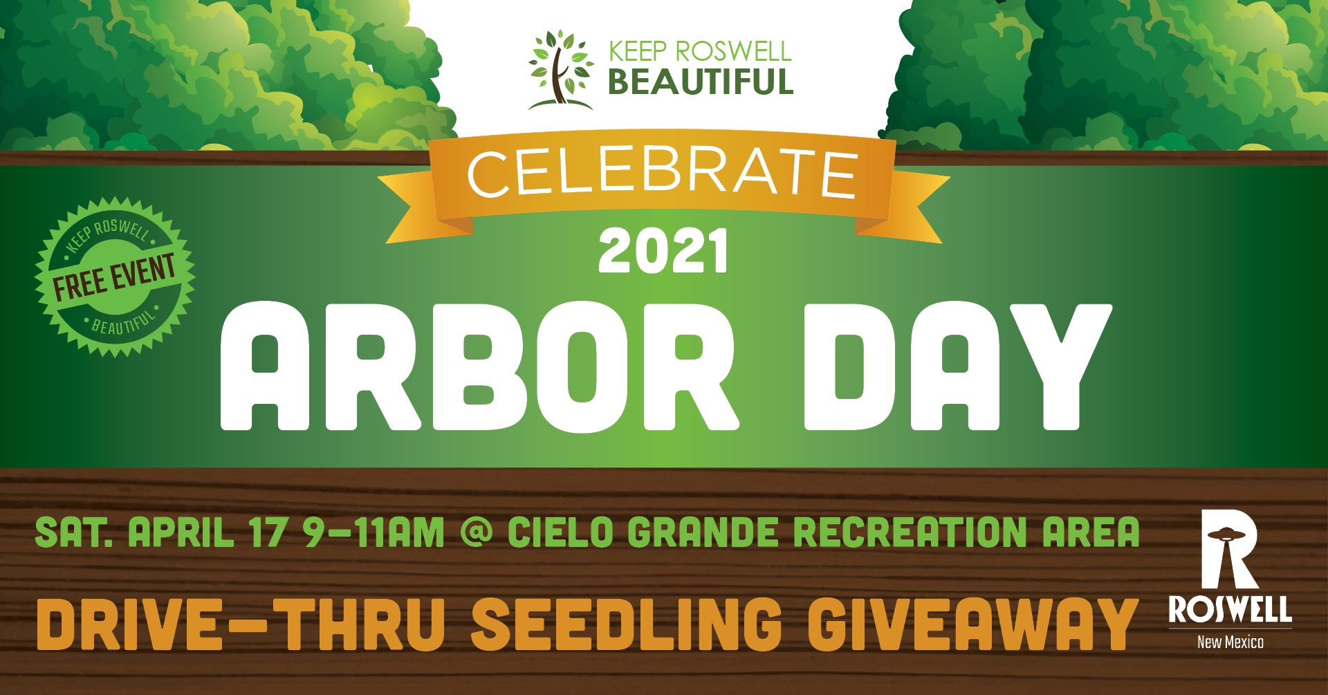 Arbor Day 2021 seedling giveway