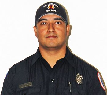 Firefighter Carlos Garcia, RFD (website)