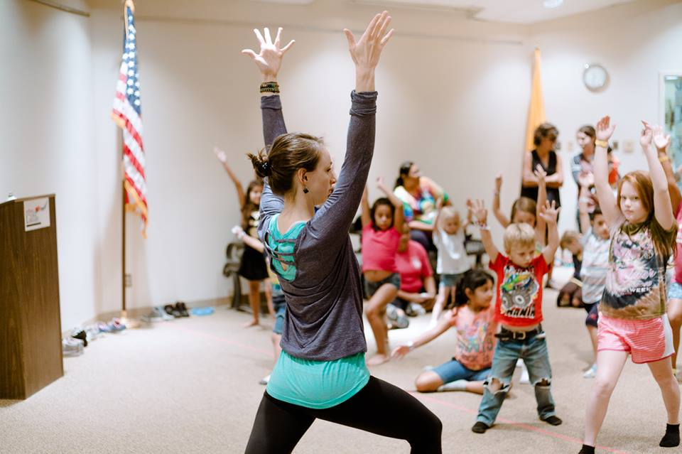 Kids Yoga with Tiffany Hazelbaker and Kimberly Gross