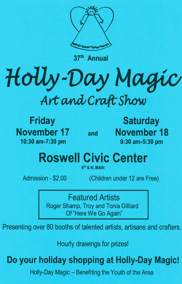 Holly Day Magic Poster