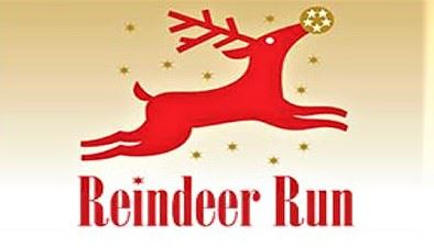 reindeer run graphic