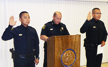 RPD officers sworn in
