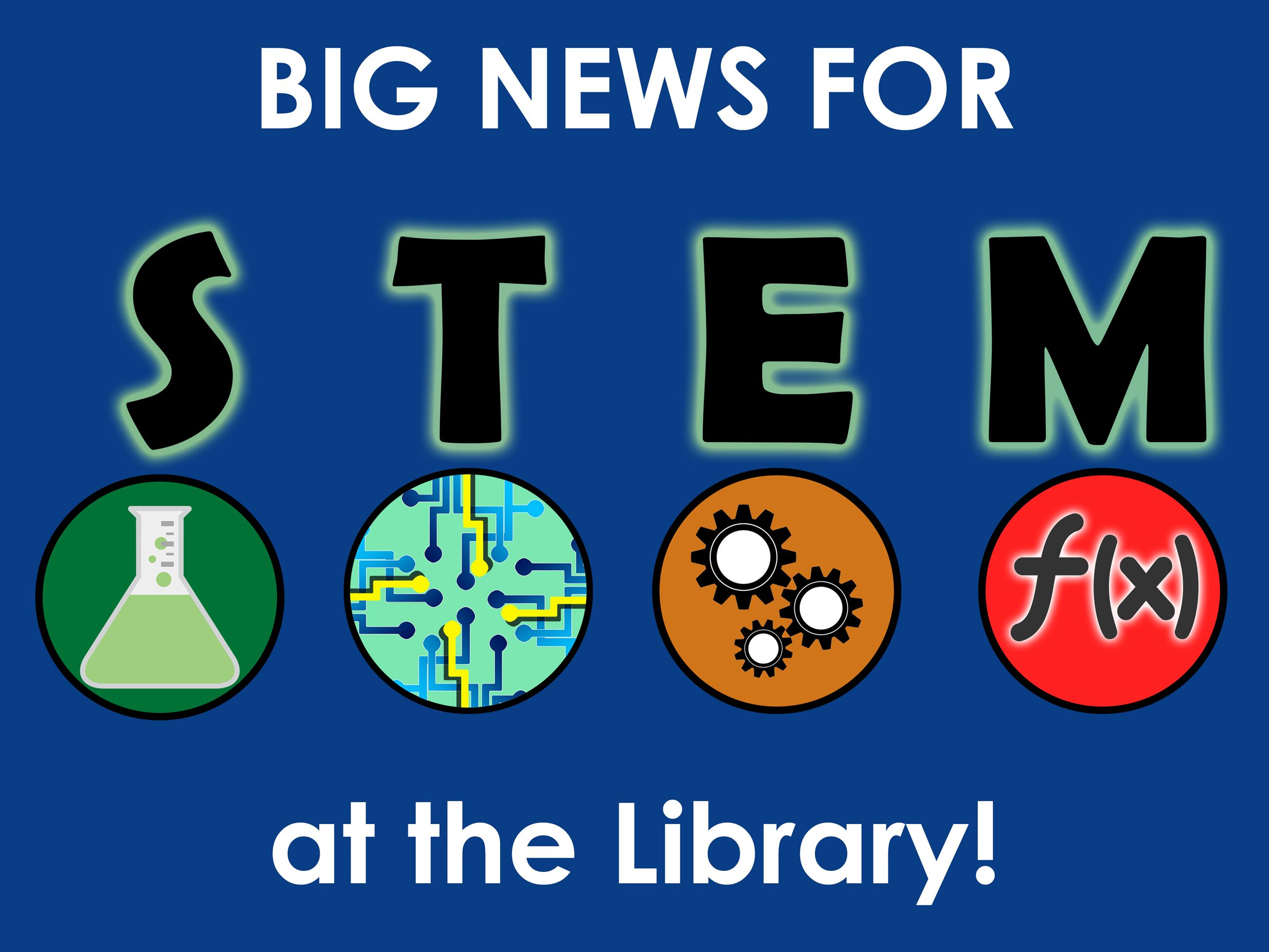 Big News for STEM at the Roswell Public Library