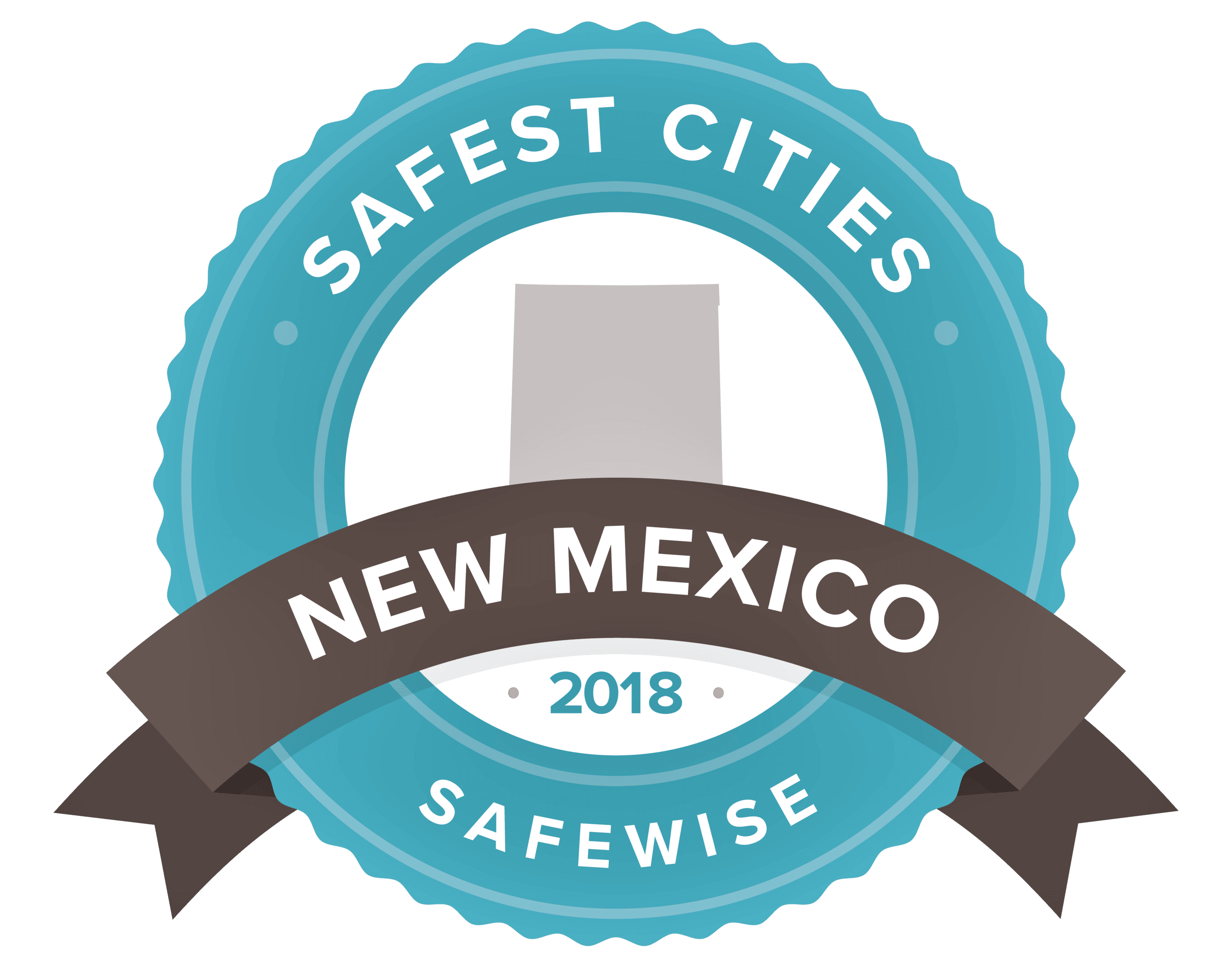 SafeWise Safest Cities Logo N.M. 2018