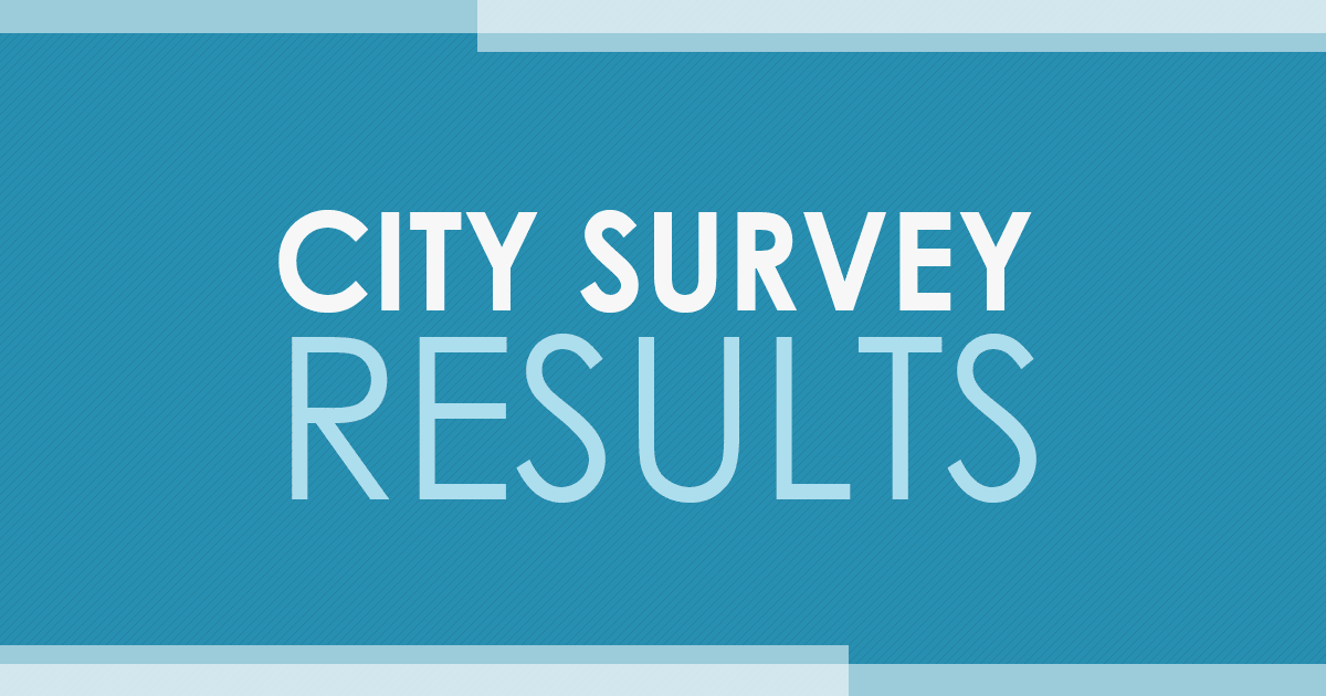 City Survey Results
