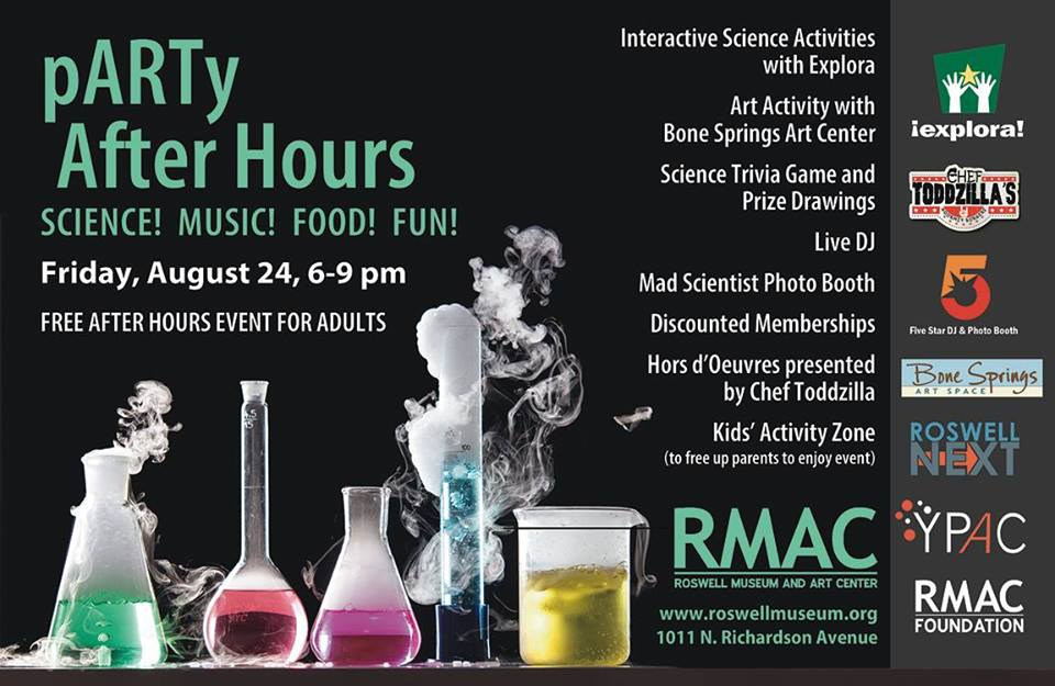 RMAC pARTy After Hours Aug. 24