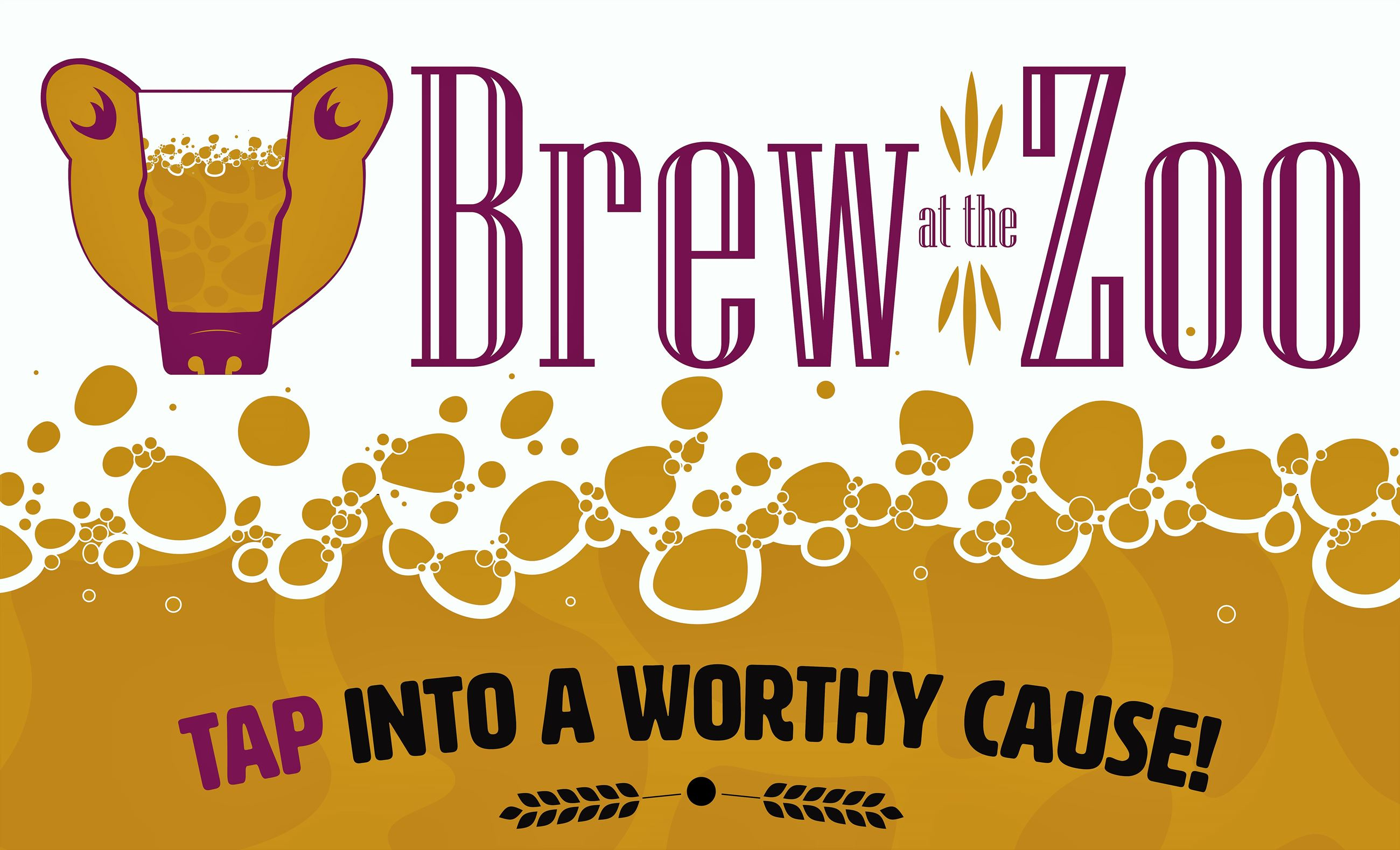 Brew at the Zoo poster