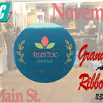 Rustic Ribbon Cutting