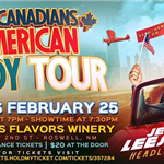 Those 2 canadian comedy tour r