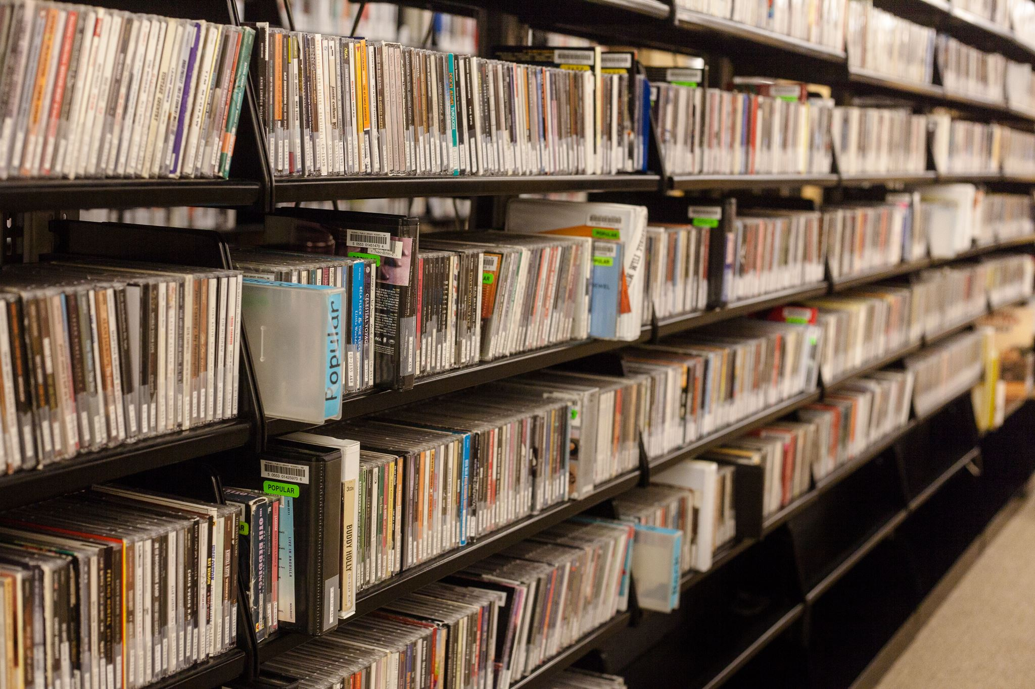 Music CD collection