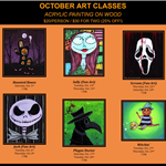 October Art Classes