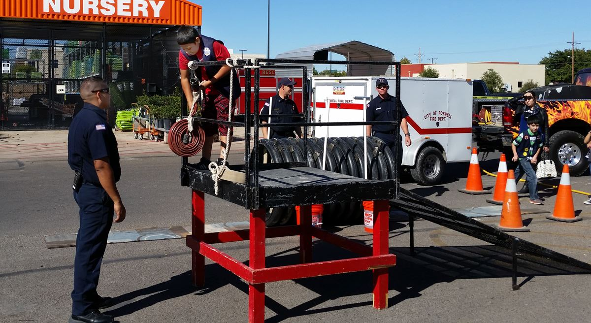 Safety Day at Home Depot FD 4 (10-22-16)