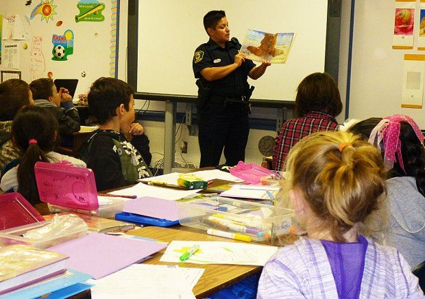 Reading with Heroes at Del Norte Elementary